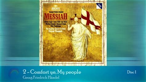 handel messiah comfort ye handel messiah 2 comfort ye my people youtube