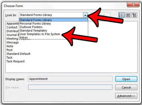 user templates in file system how to create an email from a template in outlook 2013