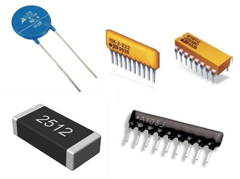 types of thick resistor types of resistors potentiometer varistor rheostat