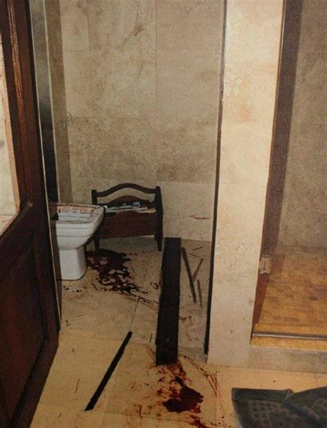 Creie In Shower by Reeva Steenk Dead Crime Photos Warning