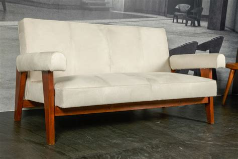 court sofa pierre jeanneret quot high court down quot sofa ca 1955 at 1stdibs