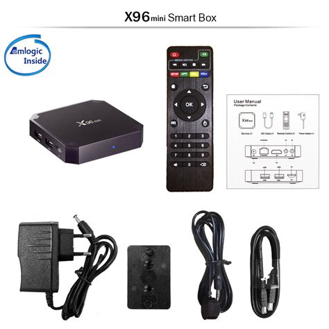 Android 7 1 Nougat Android Tv Box X96 Mini Ram 2g Rom 16g Kodi x96 mini android 7 1 nougat s905w 2gb 16gb kodi tv box 4k iptv decoder smart tv ebay