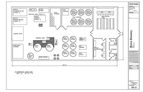 nano brewery floor plan boogie down brewery beer brewing beer production and