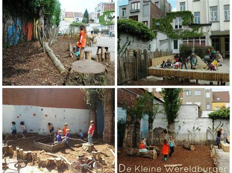 Kids Backyard Play Equipment Speelnatuur Op De Kleine Wereldburger In Borgerhout