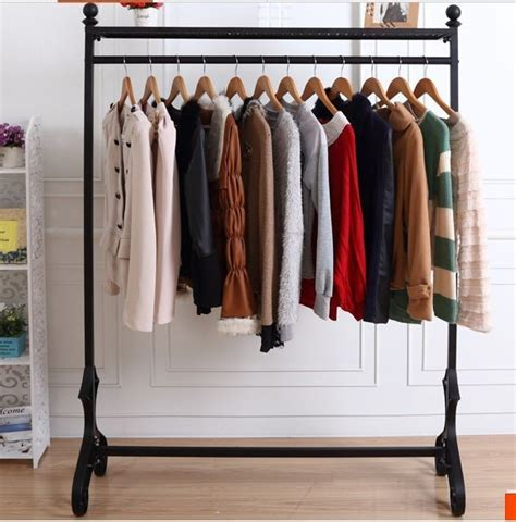 High end wedding clothes rack clothing rack display stand