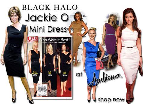 Who Wore It Better Black Halo Jackie O Dress by Black Halo Jackie O Dress 171 Sewingartistry