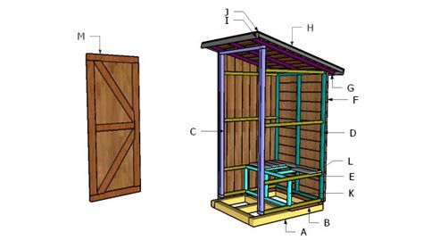 how to build a simple outhouse howtospecialist how to