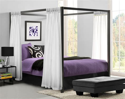 Contemporary Canopy Bed Contemporary Canopy Beds Metal Modern Contemporary