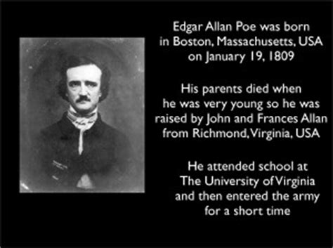 biography by edgar allan poe edgar allan poe quotes about life quotesgram