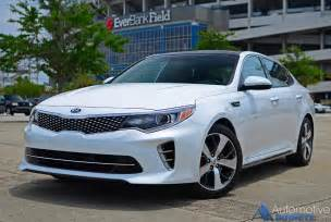 Kia Optima Turbo Performance In Our Garage 2016 Kia Optima Sx Turbo