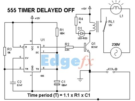 555 timer delay circuit diagram eeweb community