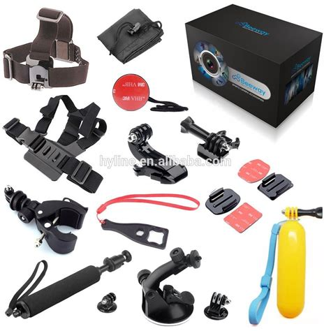 gopro cost 2016 lowest cost gopro accessories set kit for go pro