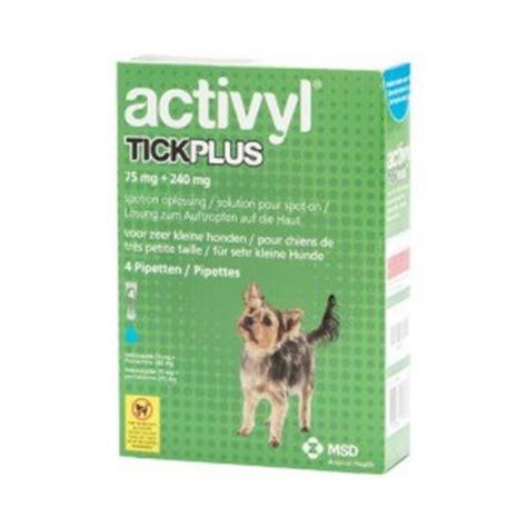 activyl tick plus for dogs activyl tick plus click for larger image breeds picture