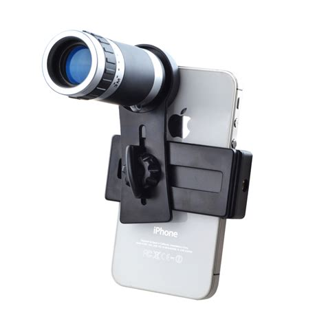 Mobile Phone Telescope 8x Zoom 8x zoom universal mobile phone telescope lens tripod from category lens attachments