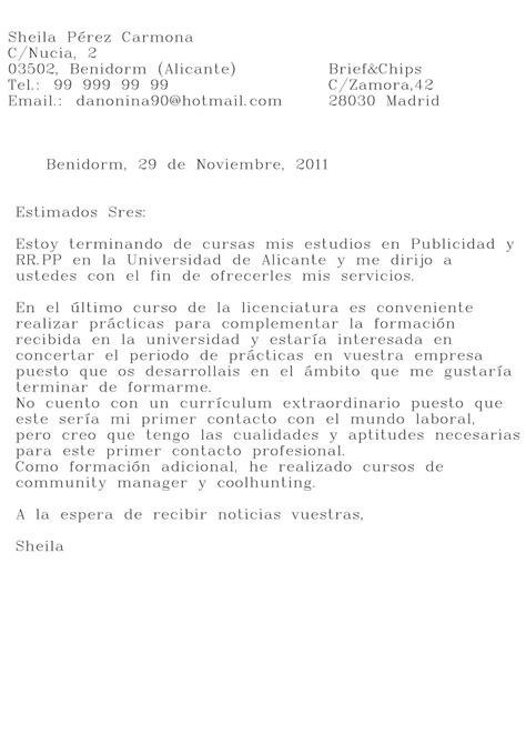 ejemplos de carta de motivacin laboral ejemplos de ejemplo de carta de motivaci 243 n para primer empleo