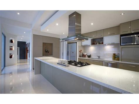 glass in a kitchen design from an australian home