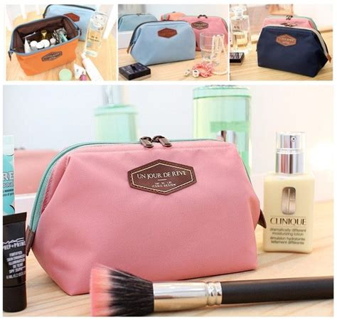 Tas Makeup Mini multifungsi portabel travel kosmetik tas makeup lucu