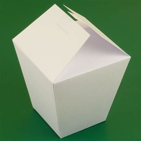 chinese take out box template instructions diy gift