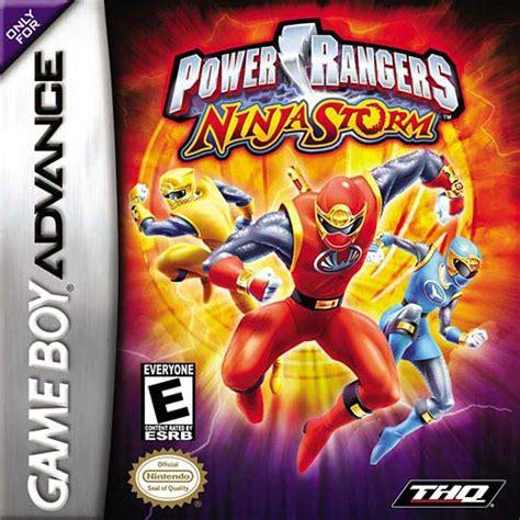 emuparadise gba power rangers ninja storm u mode7 rom