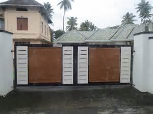kerala home gates design colour kerala gate designs july 2013