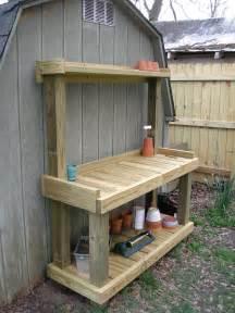 outdoor potters bench diy potting bench westview bungalow