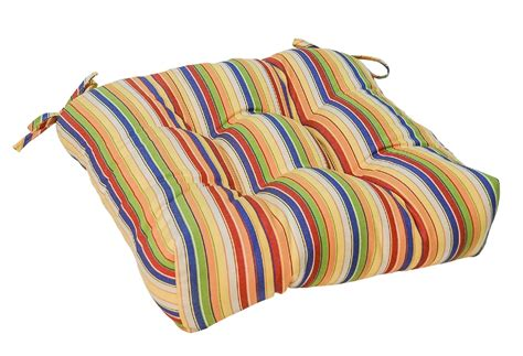outdoor seat cushion fabric greendale home fashions 20 quot outdoor chair cushion