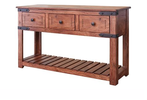 console and sofa tables parota rustic console sofa table rustic parota console table