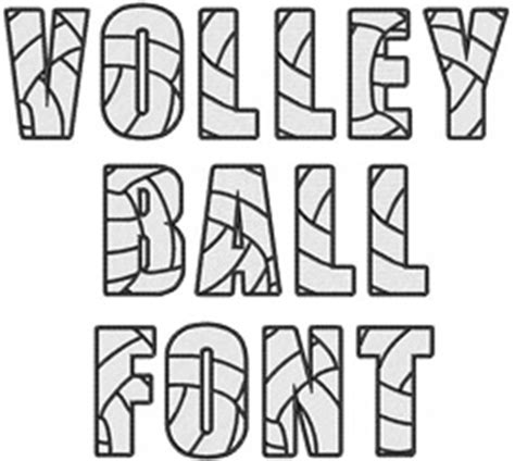 javascript pattern for alphabets home format fonts embroidery font volleyball font from