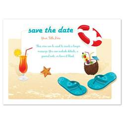 beach party save the date invitations amp cards on pingg com