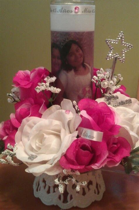 174 best xv sweet 16 centerpiece images on