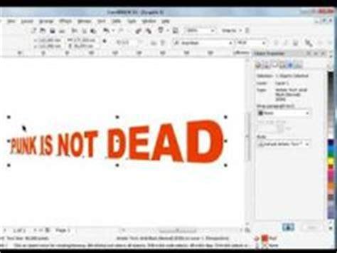 tutorial corel draw x4 text coreldraw 3d gold corel draw pinterest 3d draw and