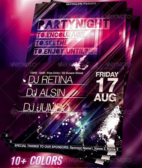 template flyer free party 160 free and premium psd flyer design templates print