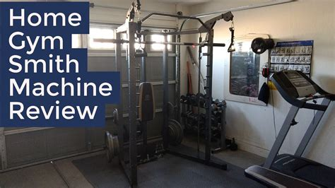 marcy combo smith machine home review demo