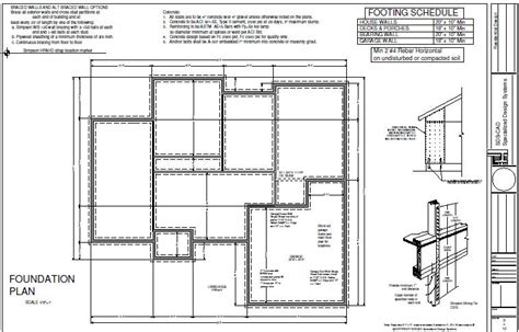 foundation floor plan house3 foundation plan sds plans