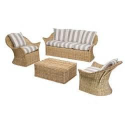 salon en rotin v 233 randa achat vente salon rotin design