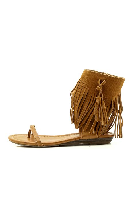 sandals with tassels fringe sandal with tassel from arkansas by harrison s