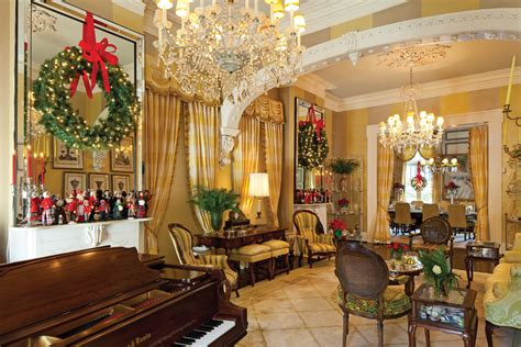 new orleans home interiors new orleans home showcases yuletide spirit southern mag