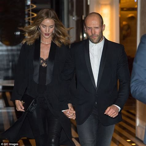 Donald Receives A Pair Of Rosie by Rosie Huntington Whiteley And Fianc 233 Jason Statham Don