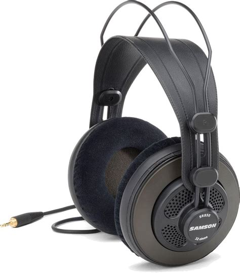 Samson Sr850 Professional Studio Headphones Eceran Diskon samson sr850 studio headphones single in musical instruments