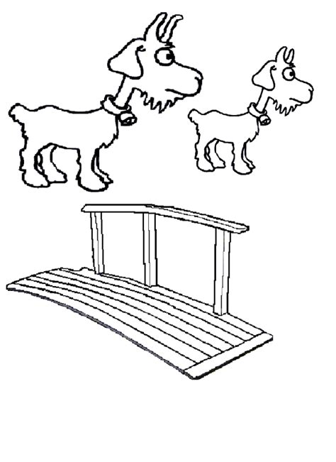 Billy Goats Gruff Coloring Pages Az Coloring Pages Three Billy Goats Gruff Coloring Page