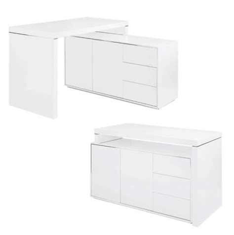 White Executive Office Desk Dwell Executive Office Desk White
