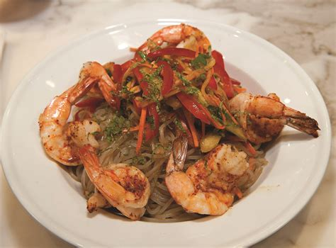 Tiger Shrimp tiger shrimp and glass noodle salad home trends magazine
