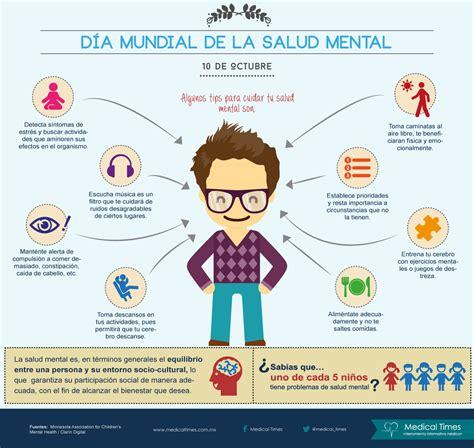 imagenes salud mental d 237 a mundial de la salud mental medical times infograf 237 a