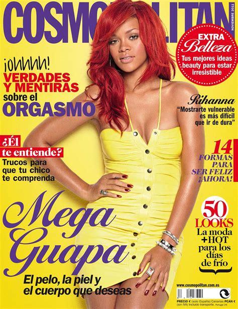 cosmopolitan magazine cover template рианна на обложке испанского cosmopolitan в ноябрьском