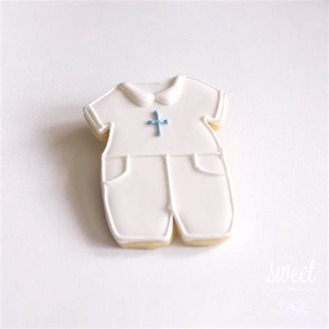 Giveaways For Baby Boy Christening - baby boy christening cookie favors one dozen sugar cookies by sweet cookie boutique