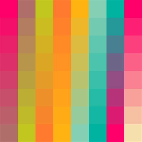 psychedelic colors psychedelic color palette infographic ideas