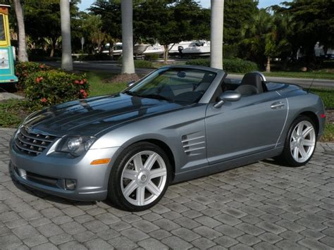 how petrol cars work 2006 chrysler crossfire roadster electronic toll collection 2005 chrysler crossfire limited convertible for sale in fort myers fl stock 050925