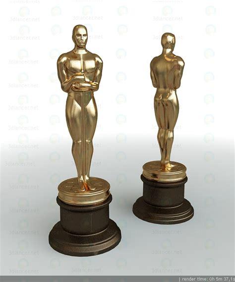 Oscar 3d Model Free 3d model oscar statuette for free