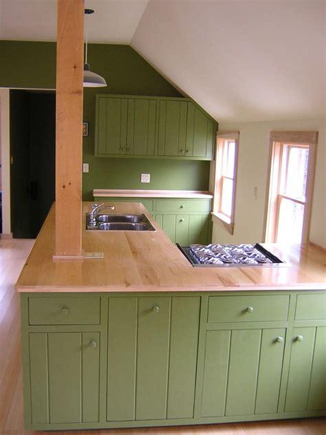 handmade guest house kitchen  wooden hammer llc