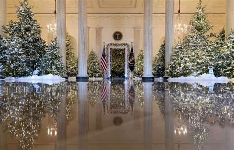 watch first lady reveals white house christmas
